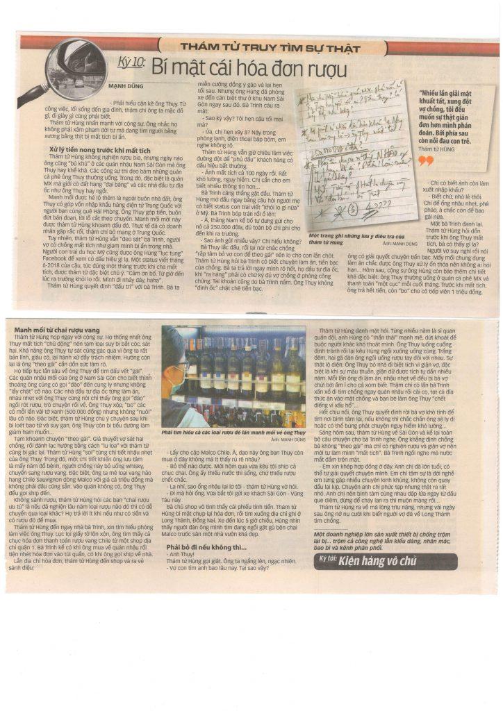 0001 724x1024 - Thám tử truy tìm sự thật - Bí mật cái hóa đơn rượu